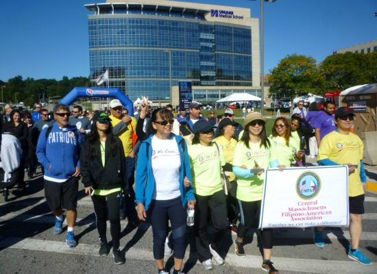cancer walk photo