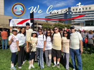 2015 walkers with we care logo